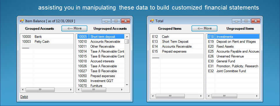 excel financial statement reporting software excel trial balance